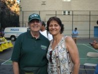 CERT volunteer Pat Sallin with Jo-Ann Polise, the event's organizer