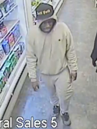 Surveillance photos of three of the individuals were captured at the time of the incident inside the Duane Reade at 67 Broad Street.
