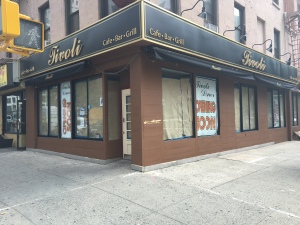 Tivoli's owner said there would be no stand-up bar and the establishment would close at midnight, which calmed some concern from neighbors that the place could become a college watering hole. (Photo by Sabina Mollot)