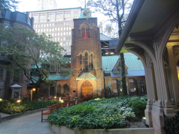 Church of the Transfiguration at 1 East 29th Street (Photo by Maria Rocha-Buschel)