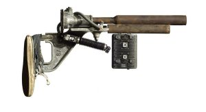 """A piece from the installation """"Gun Show"""" by David Hess (Photo  courtesy of artist)"""