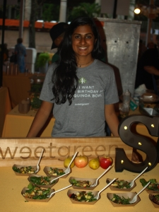 Rooda Shankar of sweetgreen