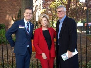 State Senator Brad Hoylman, Congress Member Carolyn Maloney and Assemblymember Brian Kavanagh campaigned in Stuyvesant Town on Tuesday.