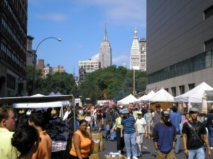 Community organizations who rely on revenue from street fairs had opposed the proposal to make it mandatory to have 50 percent of the vendors be local. (Photo via Wikipedia)