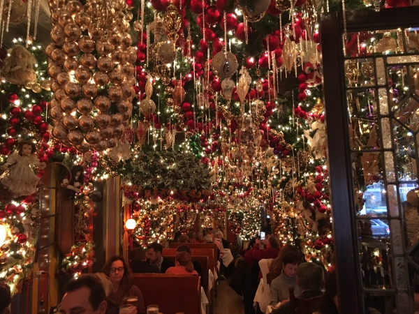 It's almost impossible to get into Rolf's German restaurant in Gramercy around holiday time unless you've made your reservation in October. (Photos by Sabina Mollot)