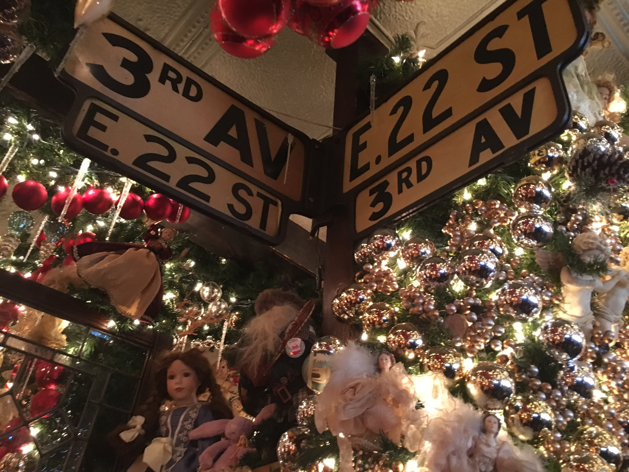 Rolfs Christmas Bar Nyc.The History Of Rolf S Christmas Crowd Pleaser Town Village