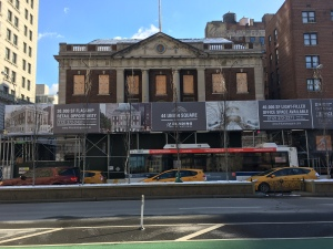 The former Tammany Hall building as it appears today (Photo by Sabina Mollot)