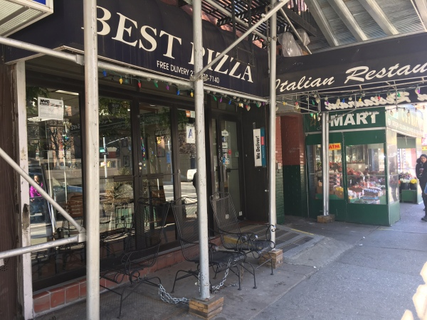 Frank's Trattoria on First Avenue (Photo by Sabina Mollot)