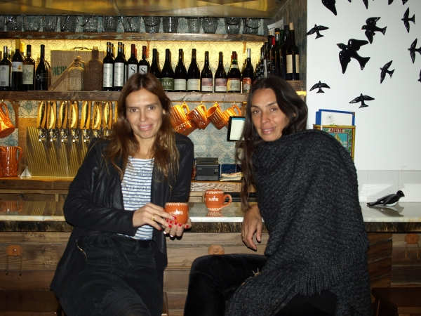 Owners Raquel and Patricia Sanguedo (Photos by Maria Rocha-Buschel)