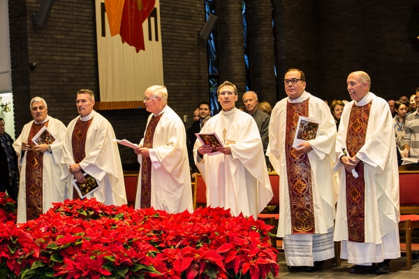 clergy standing