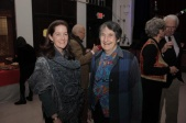 Tara Rockefeller, GPBA vice president; and Anne Sidamon-Eristoff, a longtime member of St. George's Church