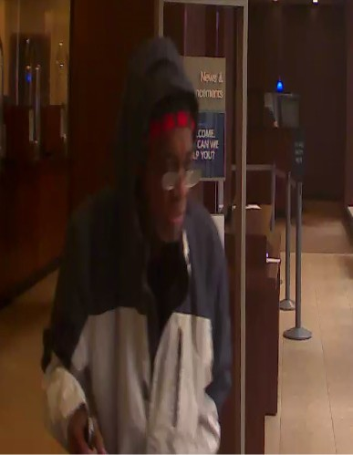 Mar1 Bank robbery suspect