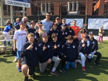 PSLL boys' district team with Jerry Blevins