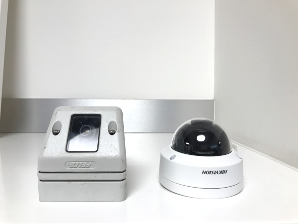 Security Cameras - Old and New Side By Side (1)